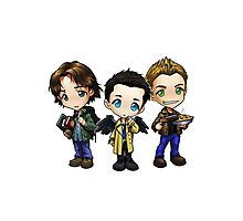 Supernatural - Dean, Sam and Castiel Photographic Print