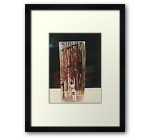 """The Collector""1985 Other Side Framed Print"