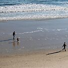 Family On The Beach by Cynthia48