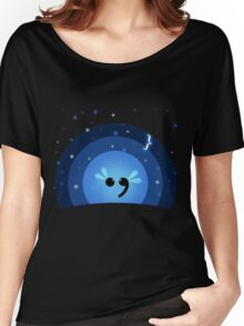 Semicolon Women's Relaxed Fit T-Shirt