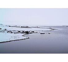 Stor Hamra Sjön, Winter Photographic Print