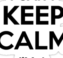 I cant keep calm Im a DANZIG Sticker