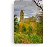 Church in the wild Canvas Print