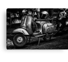 Scooter Canvas Print