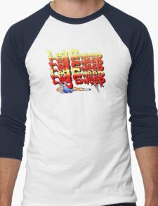 Street Fighter 2:  Leg Sweep Edition Men's Baseball ¾ T-Shirt