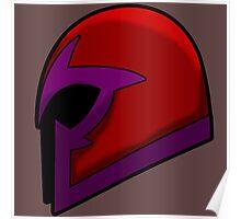 Magneto's Helmet Poster