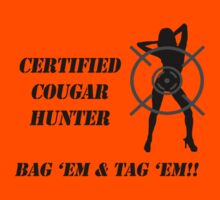 Certified Cougar Hunter by Samuel Pevehouse
