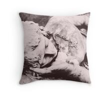 May Angels Lead you in... Throw Pillow