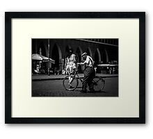 The Male Condition Framed Print