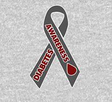 Diabetes Awareness Ribbon Unisex T-Shirt