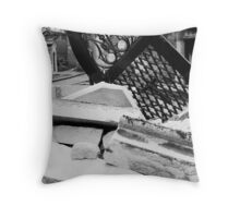 Weight of Time Throw Pillow