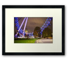 London Eye and Big Ben Framed Print