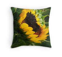 Open for Bees-ness Throw Pillow