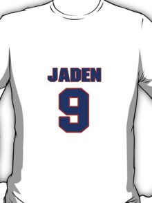National Hockey player Jaden Schwartz jersey 9 T-Shirt