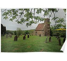 St Andrews Old Church, Upleatham Poster