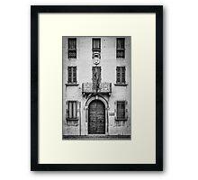 Portoni / Building Doors - Study 1 Framed Print