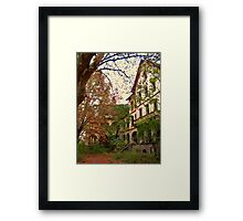 Mysterious Fall Framed Print