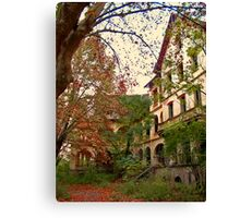Mysterious Fall Canvas Print