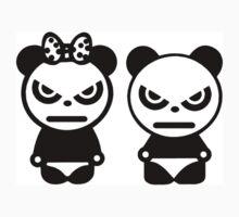 JDM ANGRY PANDAS Baby Tee
