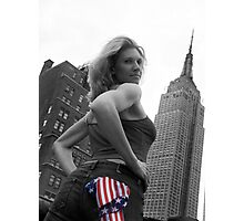 New York Girl Photographic Print