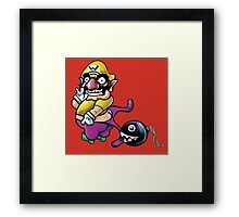 Wario Coppertone Ad Framed Print