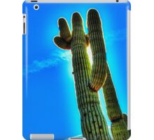 Saguaro Backlit iPad Case/Skin