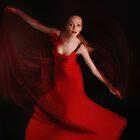 Red dance by Aleksandra Misic