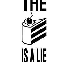The cake is a lie by Zapii