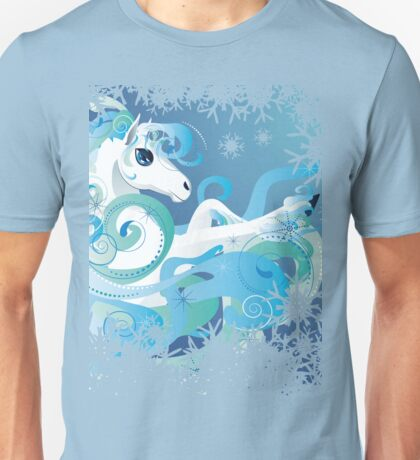 Winter Horse Unisex T-Shirt