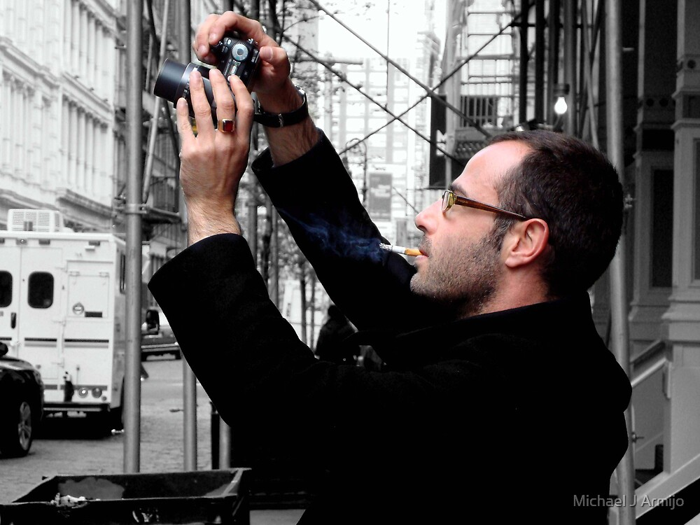 The Photographer by Michael J Armijo