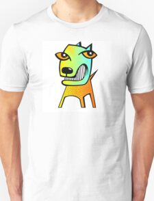abstract dog Unisex T-Shirt