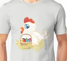 Hen with Easter Eggs Unisex T-Shirt