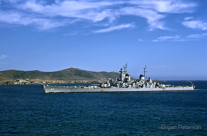 USS Wisconsin BB 64 by Bryan Peterson
