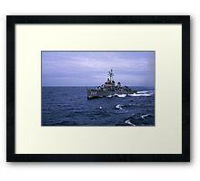 USS Wren DD 568 Framed Print