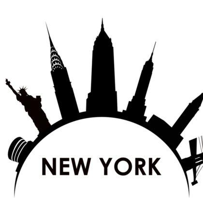 new york Sticker