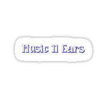 Music to one's ears Sticker