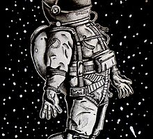 Floating Spaceman by PhilipAngelo