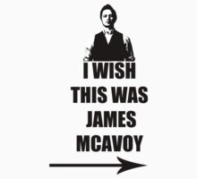 I wish this was James McAvoy by ElPavl