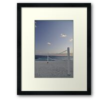 beach volleyball anyone? Framed Print