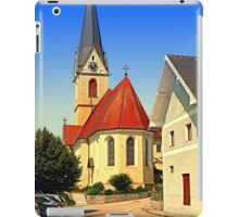 The village church of Allhaming III | architectural photography iPad Case/Skin