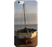 Dhow on the beach iPhone Case/Skin