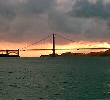 San Francisco, Golden Gate Bridge by casadejoey