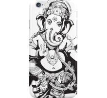 Ganesh designed for light coloured hoodies iPhone Case/Skin