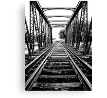 End of the line... Canvas Print