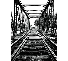End of the line... Photographic Print