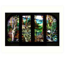 Composite Landscape Art Print
