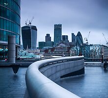 The City from More London by Vincent Sluiter