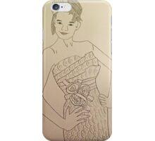 Wedding Dress No 3 iPhone Case/Skin