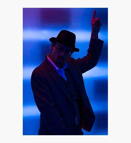 Disco Man Photographic Print