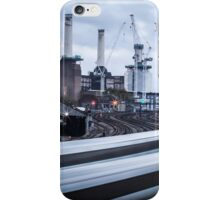 Trains at Battersea iPhone Case/Skin